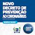 Portalegre divulga novo decreto diante do aumento de casos da COVID-19, neste momento 39 casos ativos.