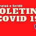 Boletins da Covid 19 de municípios da região, nesta sexta-feira (02)