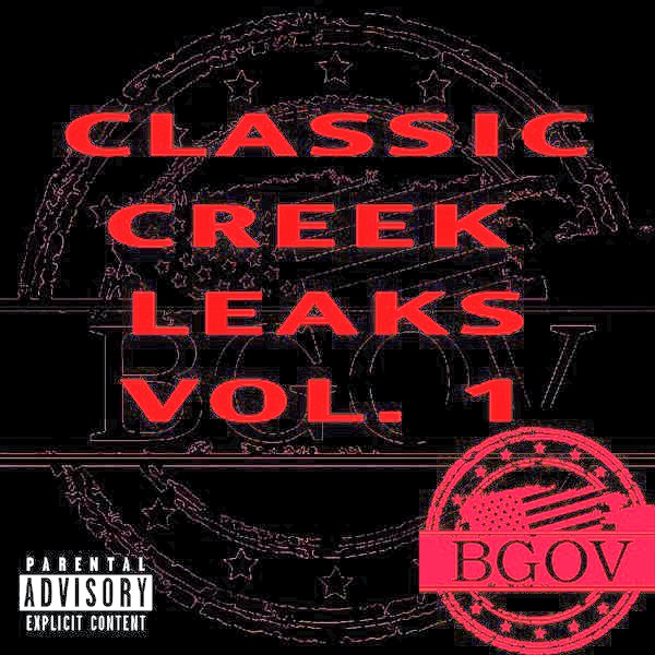 Bobby Creekwater - Classic Creek Leaks Vol. 1  Cover