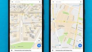 تحديث, جديد, لخرائط, جوجل, لعرض, تفاصيل, واصلاحات, جديدة