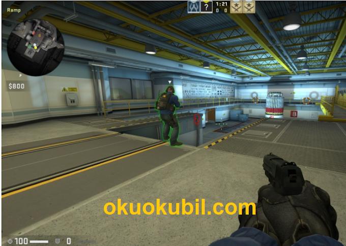 Counter Strike justGlow Yeni Hilesi Wallhack [ESP] + BunnyHop İndir