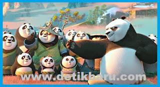 Po Melatih Para Panda Muda