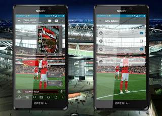 BBM MOD Arsenal v3.1.0.13 Apk (BBM Arsenal New Style) Update Terbaru 2016 Gratis