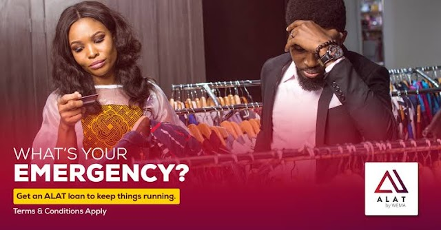 Need a loan? | Get one with Alat by Wema Bank | Apply now