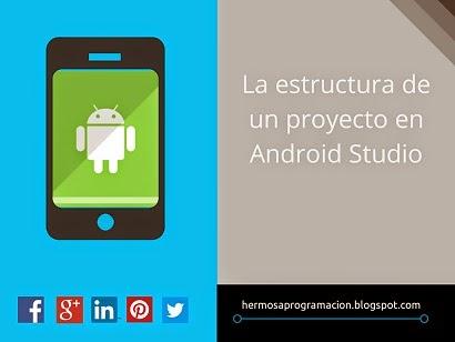 Android Studio, Estructura de un proyecto