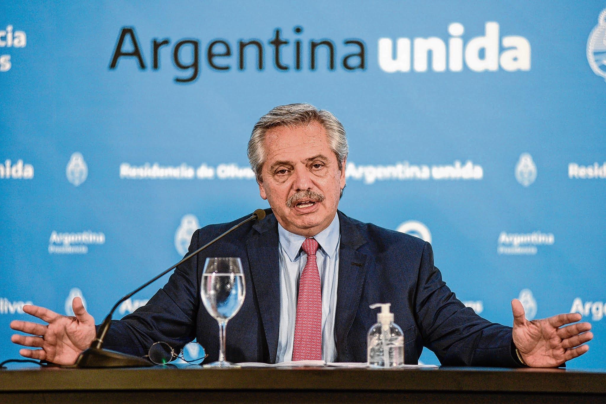 Solo el 38% de los argentinos aprueba la gestión de Alberto Fernández contra el coronavirus