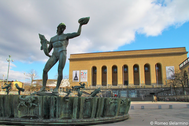Poseido Public Square Things to Do in Gothenburg Sweden