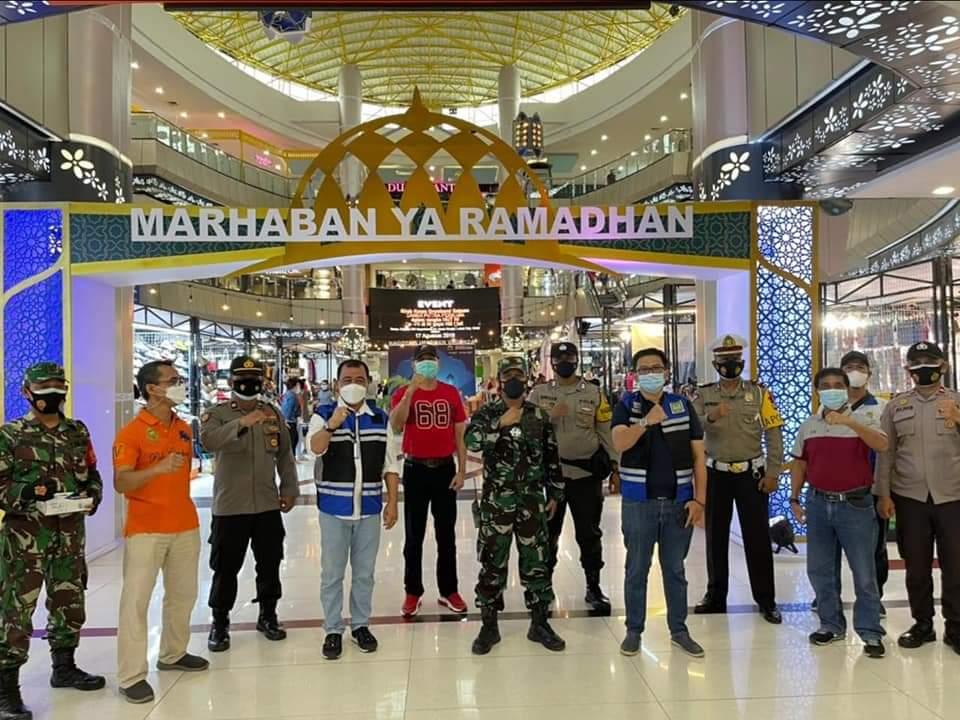 Pemko Batam Bersama TNI dan Polri Pantau Penerapan Prokes di Grand Mall, BCS Mall, DC Mall dan Botania 2