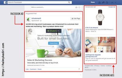 contoh iklan facebookads