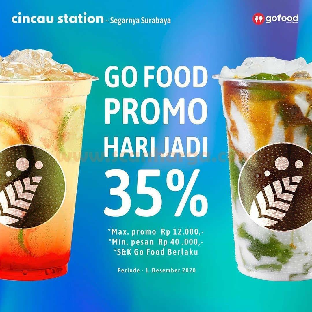 Cincau Station Promo Diskon 35 % via Gofood