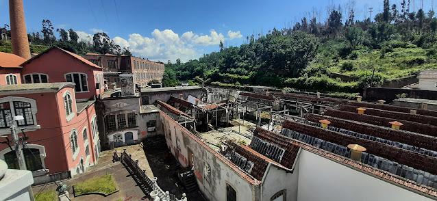 edifícios da antiga fábrica de Fiação de Crestuma