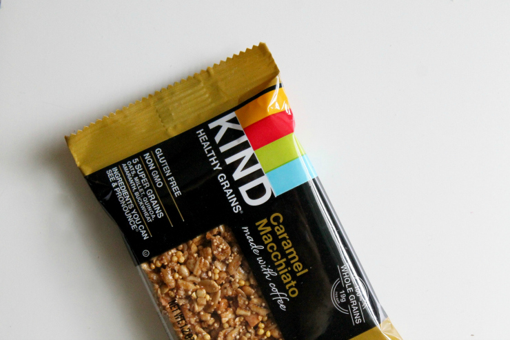 KIND granola bar - One Day Healthy Food Diary