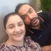 Avinesh Rekhi with her wife