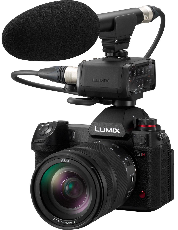 Микрофонный адаптер и микрофон с Panasonic Lumix S1H