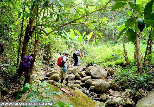 hiking in Batangas