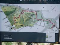 Plan of the Wellington Botanic Garden, New Zealand