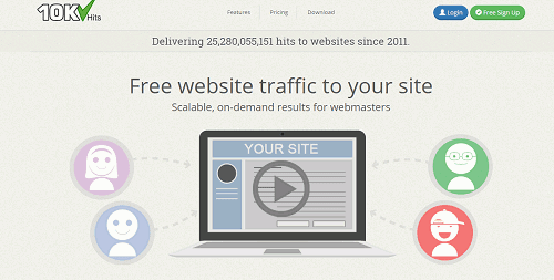 Free Website Traffic Generator