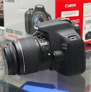 Kamera Canon 1200D Second Fullset di Malang