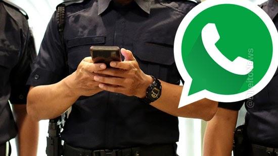 stf policiais acessar conversas whatsapp autorizacao