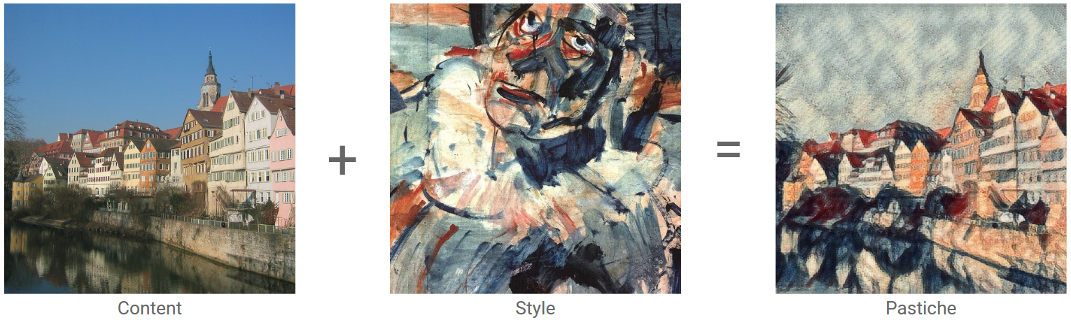 Optimizing style transfer to run on mobile with TFLite