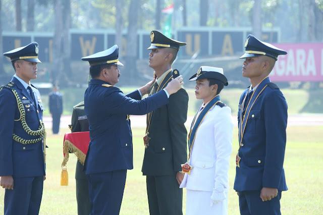 Panglima TNI Lantik 169 Perwira Prajurit Karier TNI TA 2019