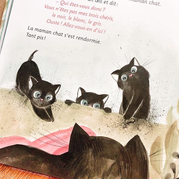 Album jeunesse : Les trois chatons