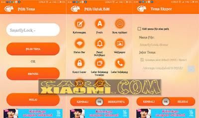 Cara Pasang lockscreen Mod keren di Xiaomi MIUI Terlengkap