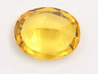 Lab-Created-Yellow-Sapphire-Oval-Shape-faceted stone-Suppliers