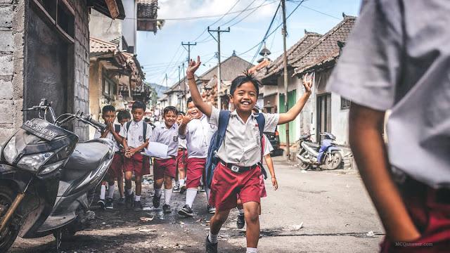 Indian School Students