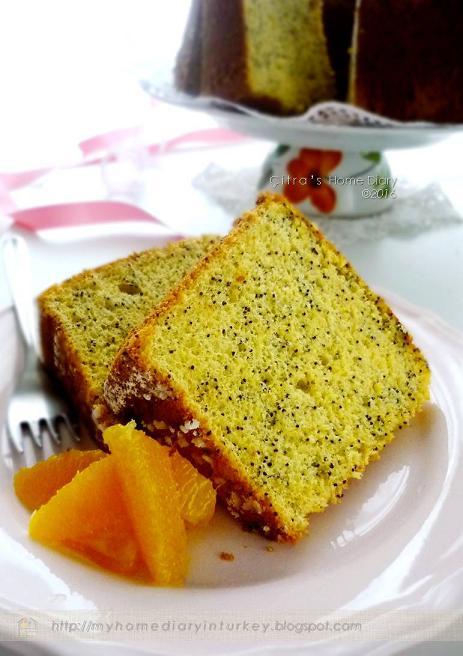 Orange Puree Cake