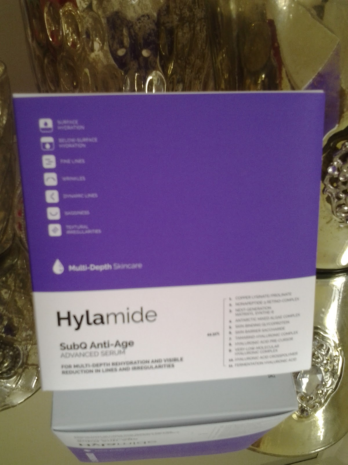 Botox in a bottle with Hylamide Sub Q Anti-age Advanced