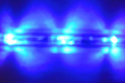 imagen de luz azul
