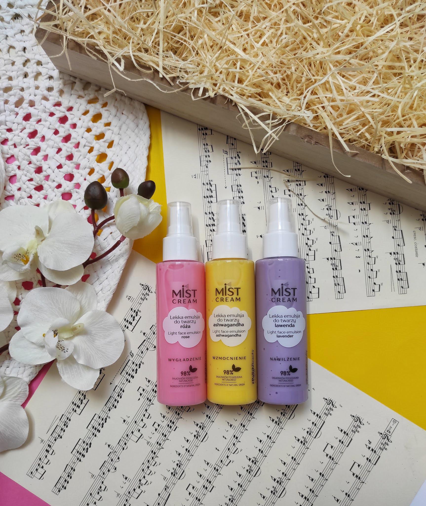 Mist Cream - kolorowe emulsje do twarzy od Floslek