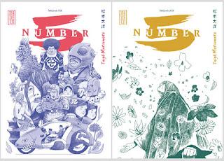 Number 5 l'intégrale en deux tome des éditions Kana