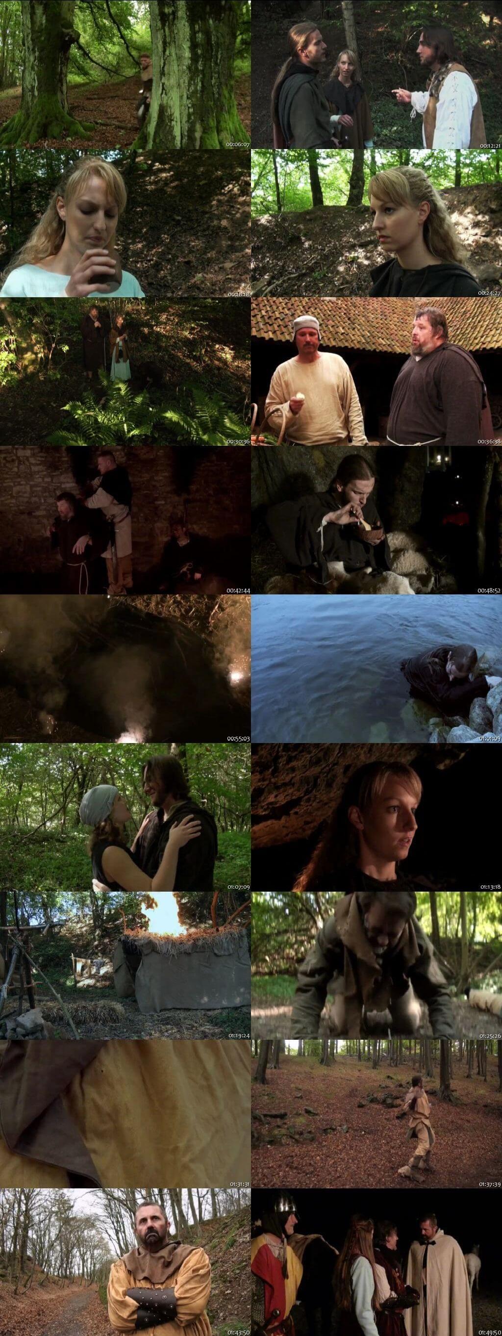 Screen Shot Of Robin Hood: Ghosts of Sherwood 2012 In Hindi English Dual Audio Bluray
