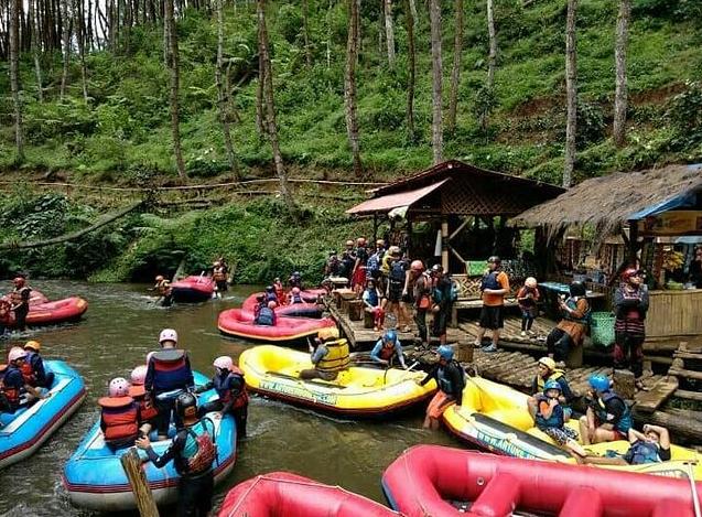 Rafting Situ Cileunca Pangalengan - Rafting Terbaik Di Bandung