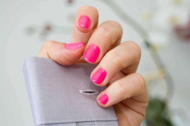 różowy lakier na lato Semilac Pink Wink 170