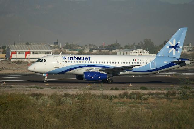 Meksika havayolu Interjet (XA-IJR) | Sukhoi Superjet 100