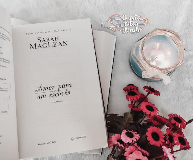 Resenha: Amor para um Escocês - Sarah MacLean