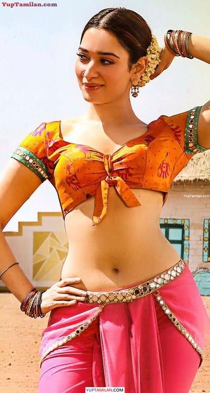 Tamanna Hot Navel Photos