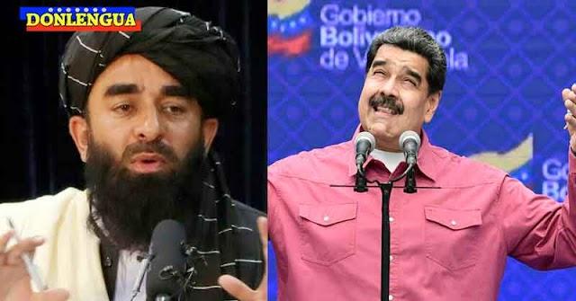 Régimen de Maduro forma una narco-alianza con los Talibanes de Afganistán