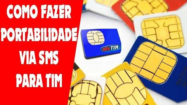 Como fazer portabilidade para Tim por SMS!