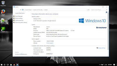 Cara install Windows 7/8/10 di Laptop Lenovo G40-45 Tanpa Menghapus Hardisk