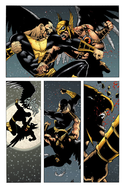 hawkman vs black adam