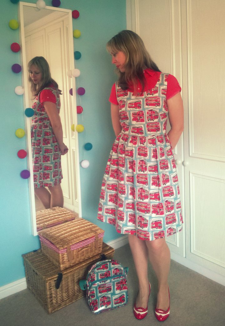 Red Buses And Pound Shop Banta!! Cath Kidston Dress
