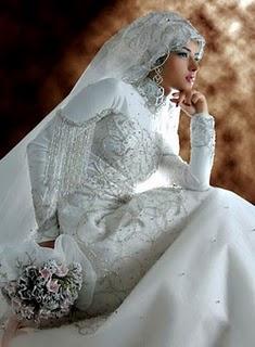 Wedding Dress Modern Muslim Wedding Dresses Design With Veil
