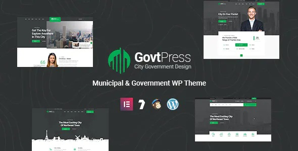 Best Municipal and Government WordPress Theme