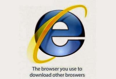 arti sebenarnya dari logo internet explorer