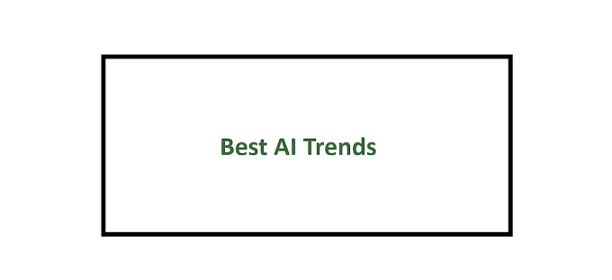 Best AI Trends