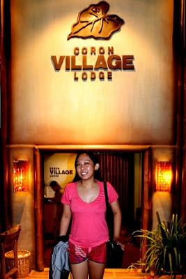 Girl Travel in Coron Village Lodge
